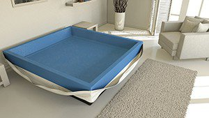 Hardside of softside waterbed kopen?