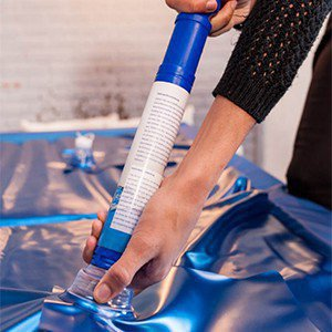 Lucht in de watermatras en hoe te verwijderen
