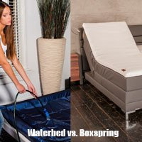 Waterbed of boxspring bed kopen?